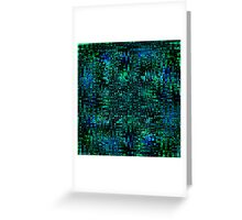 Matrix Greeting Card