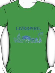 Liverpool city montage T-Shirt