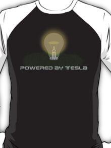 Powered by Tesla - Bulb T-Shirt