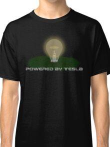 Powered by Tesla - Bulb Classic T-Shirt