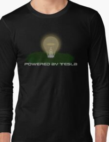 Powered by Tesla - Bulb Long Sleeve T-Shirt