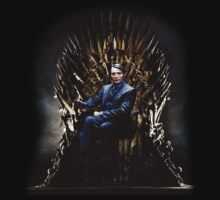 Hannibal - Mads Mikkelsen - Iron Throne by Hrern1313