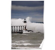 St Joseph North Pier Lighthouse - 42 Poster