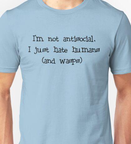 Antisocial  Unisex T-Shirt