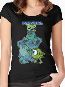 Monsters Ink Women's Fitted Scoop T-Shirt