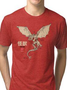 Kaiju Anatomy 2 Tri-blend T-Shirt
