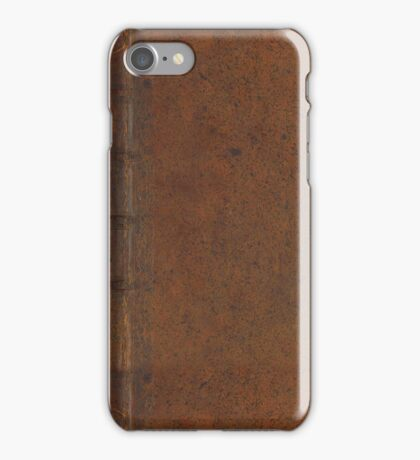 Leather Book iPhone Case/Skin