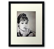 Audrey Hepburn Framed Print