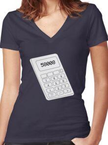 58008 Women's Fitted V-Neck T-Shirt