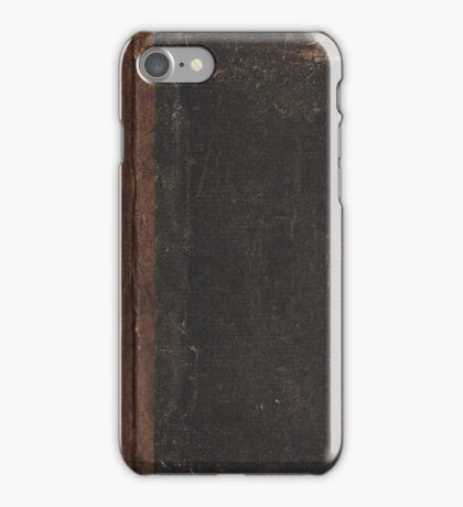 Antique Book iPhone Case/Skin