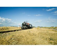 Winston Churchill at Dungeness Photographic Print