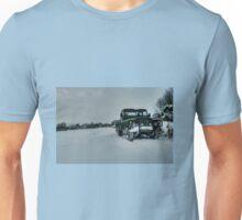 Landy in the snow Unisex T-Shirt
