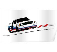 E21 Race Car Poster