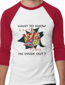 Want to know me inside out? (1) - Mechanism Men's Baseball ¾ T-Shirt