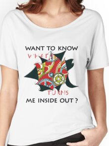 Want to know me inside out? (1) - Mechanism Women's Relaxed Fit T-Shirt