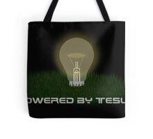 Powered by Tesla - Bulb Tote Bag