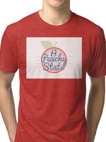 A Peachy State Tri-blend T-Shirt