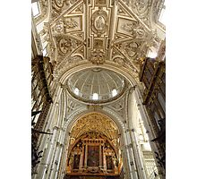 Dome, Arch & Ceiling, Mezquita, Cordoba Photographic Print