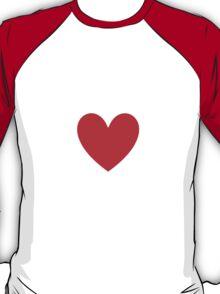I Heart Anime Shirt (WHITE) T-Shirt