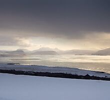 Icelandic Vista by Piers Coe