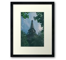 Eiffel Tower, Paris Framed Print