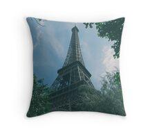 Eiffel Tower, Paris Throw Pillow