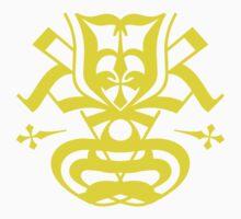 Typo Samurai - Yellow Kids Clothes