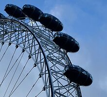 London big wheel by mikeosbornphoto