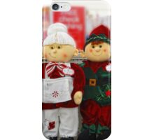 Time to decorate for Christmas iPhone Case/Skin