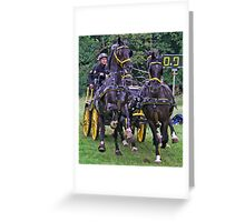 Lets Go Boys Greeting Card