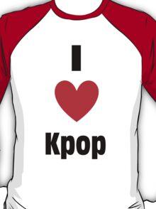I Heart Kpop Shirt T-Shirt