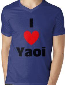 I Heart Yaoi Shirt Mens V-Neck T-Shirt