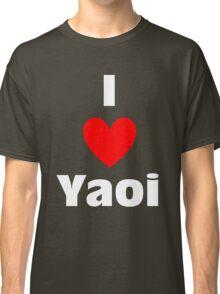 I Heart Yaoi Shirt (WHITE) Classic T-Shirt