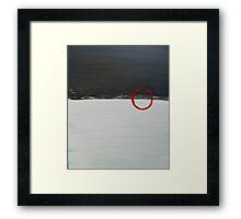 Low Winter Sun Framed Print