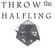 """THROW THE HALFLING!"" -Dungeons and Dragons- Photographic Print"