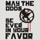Hunger Games May The Odds Be Ever In Your Favor by Alessandro Tamagni