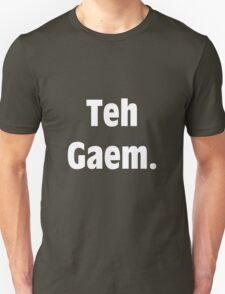 Teh Gaem Shirt (WHITE) T-Shirt