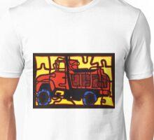 Dump truck (pieces of the puzzle 1) Unisex T-Shirt