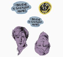Sherlock Stickers by m3l3ctric