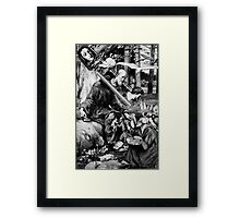 Jesus Betrayed. Framed Print
