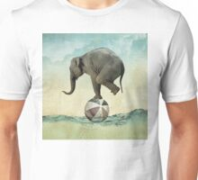 Elephant at Sea Unisex T-Shirt
