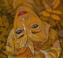 leaf halo gold by evon ski