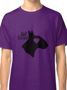 Bull Terrier <3 Classic T-Shirt