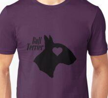 Bull Terrier <3 Unisex T-Shirt