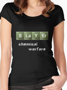 Slayer - Chemical Warfare Women's Fitted Scoop T-Shirt