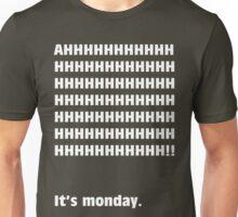 AH, It's Monday! (WHITE) Unisex T-Shirt