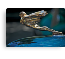 1934 Cadillac 'Goddess' Hood Ornament Canvas Print