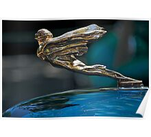 1934 Cadillac 'Goddess' Hood Ornament Poster