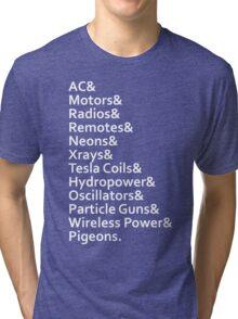Tesla's Legacy Tri-blend T-Shirt