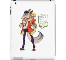 Zooronics: Wren Wolf iPad Case/Skin